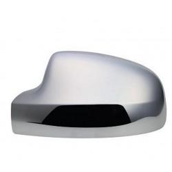 Calotta specchietto retrovisore cromata guida sx