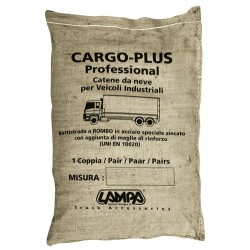 Cargo-Plus Professiona coppia catene da neve per Camion misura 37