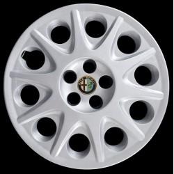 "Kit serie 4 copricerchi coppe ruota 15"""