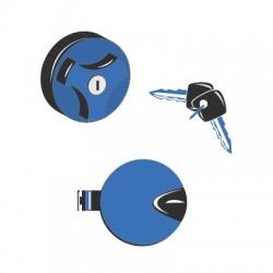 067957 Tappo carburante serbatoio a vite dm 80 mm - passo 6.3 con due chiavi