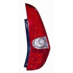 Gruppo ottico posteriore bianco rosso lato dx