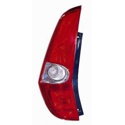 Gruppo ottico posteriore bianco rosso lato sx