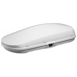 WB752 Box tetto portapacchi 450 lt 200x43x89 medio bianco lucido