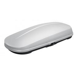 WB752 Box tetto portapacchi 450 lt 200x43x89 medio argento lucido
