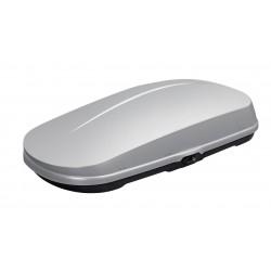 WB751 Box tetto portapacchi 400 lt 180x43x89 compatto argento lucido