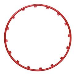 Rim Ringz Set 4 protezioni cerchi in lega diametro 15 - rosso