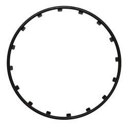 Rim Ringz Set 4 protezioni cerchi in lega diametro 15 - nero