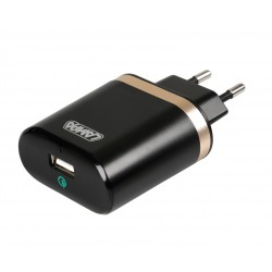 Caricabatteria da rete con 1 porta Usb - Qualcomm Quick Charge - 3000 mA - 100/230V