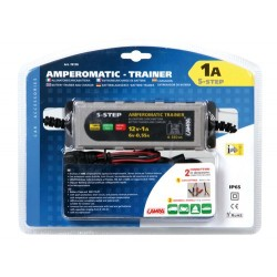 Amperomatic Trainer caricabatteria intelligente 6/2012V - 0.55/201A