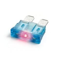 Smart Led mix 10 fusibili lamellari con spia a led 12/32V