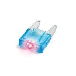 Smart Led mix 10 micro-fusibili lamellari con spia a led 12/32V