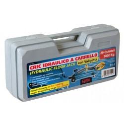 Cric idraulico a carrello - 2.000 kg - Valigetta