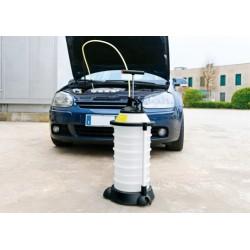Extractor pompa manuale per aspirare olio e liquidi - 18 L