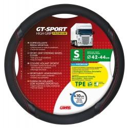 GT-Sport coprivolante in TPE - S - diametro 42 - 44 cm - nero - rosso