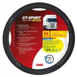 GT-Sport coprivolante in TPE - M - diametro 44 - 46 cm - nero - beige