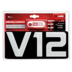 Emblema luminoso 24V - V12