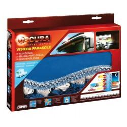 Oscura fascia parasole per camion - blu