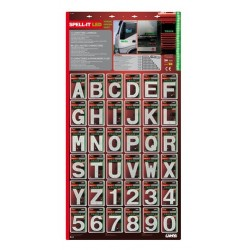 Spell-It Led - Espositore da 108 pezzi - verde