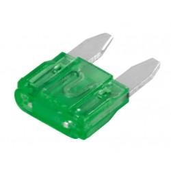 Set 100 micro fusibili lamellari 12/32V - 30A