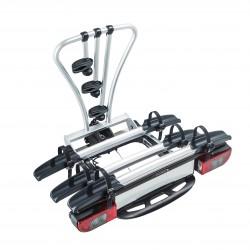 Portabiciclette per gancio traino - 3 bici