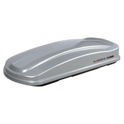 Box 530D box tetto in ABS 530 litri doppia apertura - Argento lucido