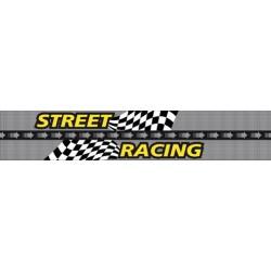 Strisce parasole per parabrezza - 130x24 cm - Street Racing