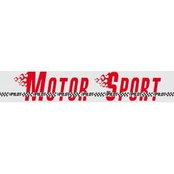 Strisce parasole per parabrezza fluorescenti - 130x24 cm - Pilot Motor Sport