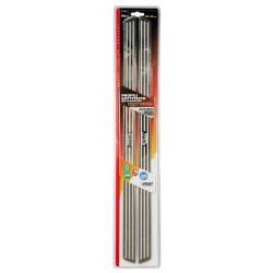 Profili battitacco in acciaio inox PB 5 625x32 cm