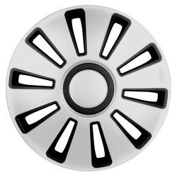 Silverstone Kit 4 copricerchi coppe ruota diametro 13