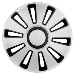 Silverstone Kit 4 copricerchi coppe ruota diametro 14