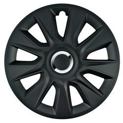 Stratos RC Black Kit 4 copricerchi coppe ruota diametro 17