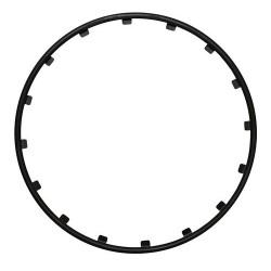 Rim Ringz Set 4 protezioni cerchi in lega diametro 20 - nero