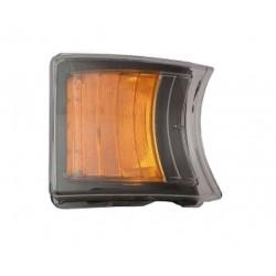 Fanale anteriore arancio a led guida sx