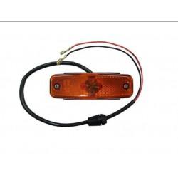 Fanale laterale arancio guida sx