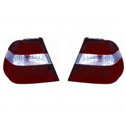 Kit fanale posteriore esterno bianco rosso led dx + sx