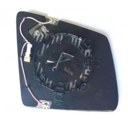 Piastra specchietto termica con vetro fotocromatico sx