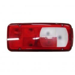 Fanale posteriore bianco - rosso sx