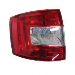 Gruppo ottico posteriore bianco - rosso sx