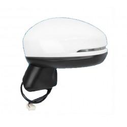 Specchietto retrovisore elettrico con freccia verniciabile 5 pin sx