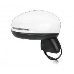 Specchietto retrovisore elettrico termico ribaltabile freccia verniciabile 5 pin dx
