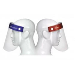 Sanafoam Visiera protettiva universale con elastico regolabile