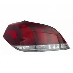 Gruppo ottico posteriore berlina bianco - rosso passeggero dx