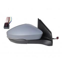 Specchietto elettrico termico con freccia verniciabile 8 pin dx