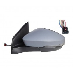 Specchietto elettrico termico con freccia verniciabile 8 pin sx