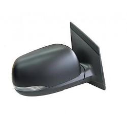 Retrovisore elettrico termico nero con freccia lato passeggero dx