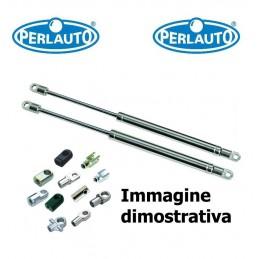 Piastra specchietto termica con vetro Blind Spot antiabbagliante guida sx