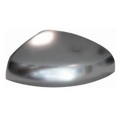 Calotta specchietto retrovisore cromata in alluminio guida sx