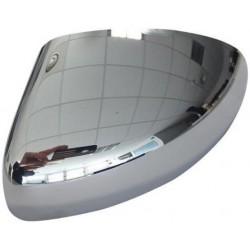 Calotta specchietto retrovisore cromata passeggero dx