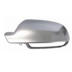 Calotta specchietto retrovisore cromata in alluminio con funzione assist lane guida sx