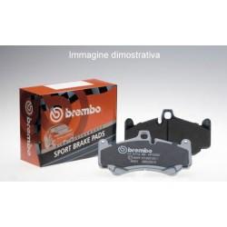 Brembo P11023 kit pastiglie freno anteriore